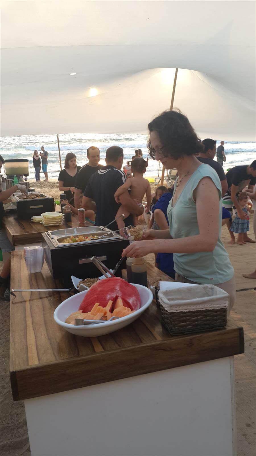 ג'וי - דוכני מזון לאירוע בים
