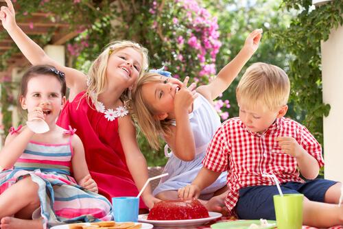 דוכני מזון למסיבת ילדים